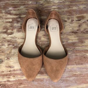 Gap Suede Leather Flats